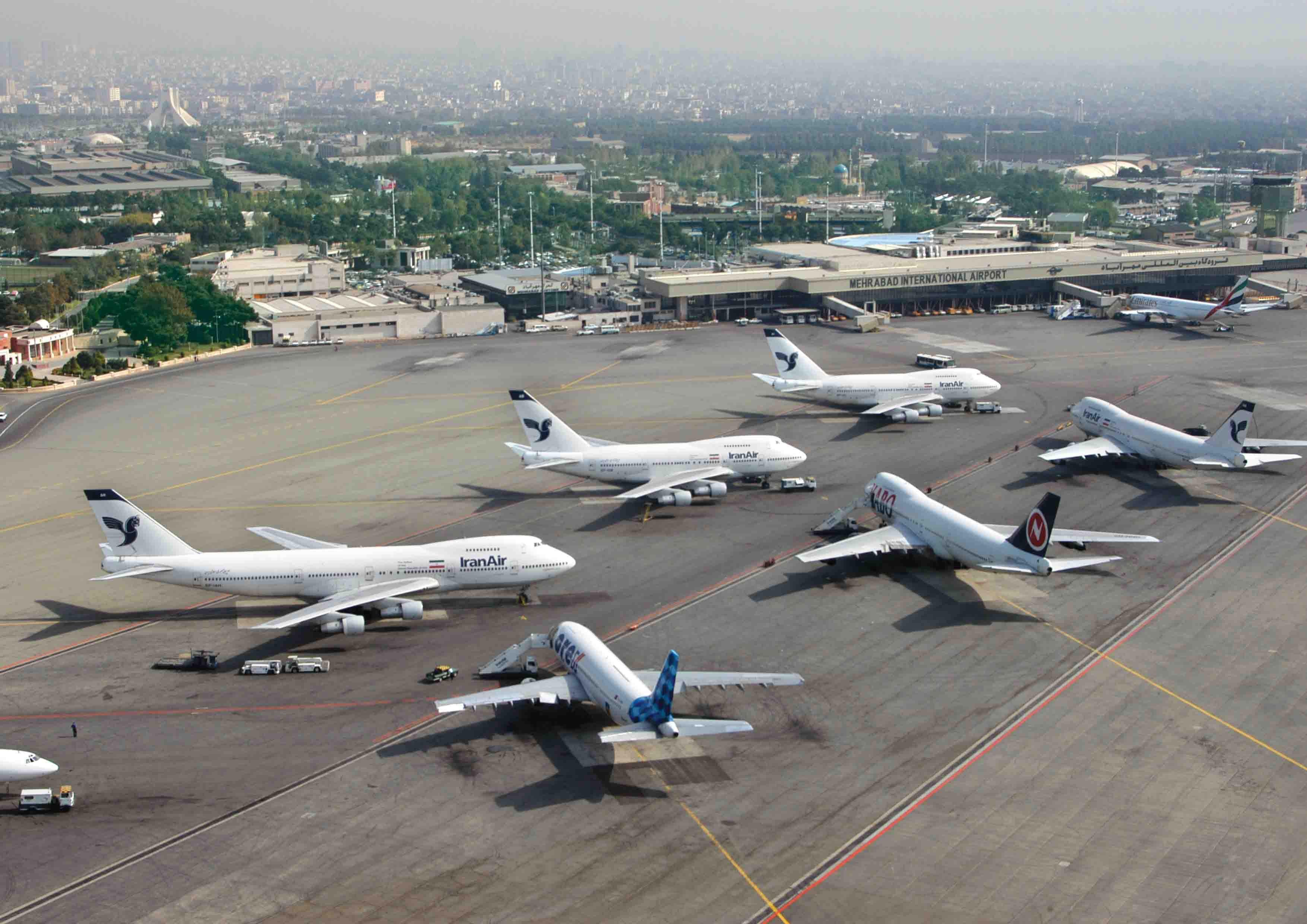 فرودگاه های ایران، آشیانه های امن برای پرواز