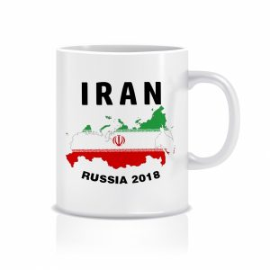 ماگ طرح پرچم ایران