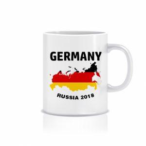 ماگ طرح جام جهانی پرچم آلمان