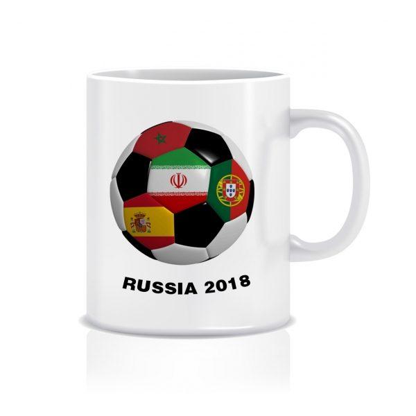 ماگ طرح پرچم جام جهانی